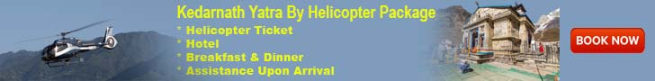 Book Online Helicopter Ticket for Kedarnath